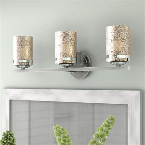 Luzerne 3-Light 27W LED Mercury Shade Vanity Light