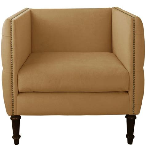 Lyric Nail Button Armchair
