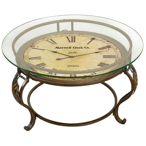 Lytton Coffee Table with Clock
