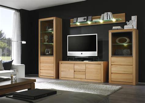 Möbel Wohnwand Holz