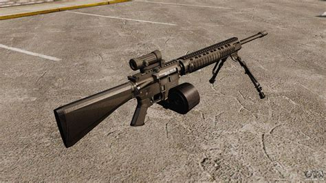 Rifle-Scopes M16a4 Rifle With A Scope.