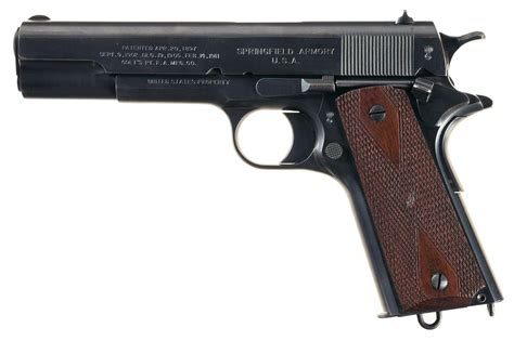 Vortex M1911 Pistol Made By Springfield Armory In 1914.