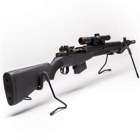 Rifle-Scopes M1a Scout Rifle With Scope.