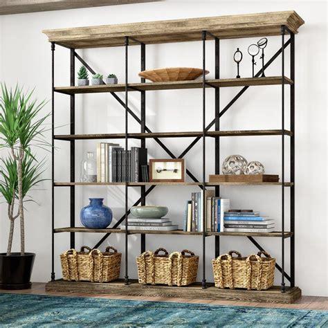 Mabie Large Etagere Bookcase