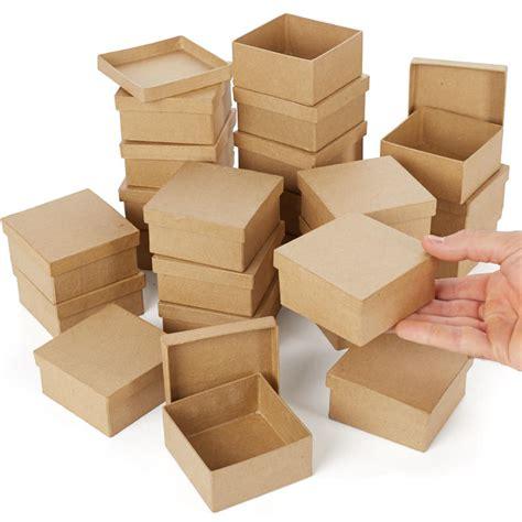 Mache Boxes