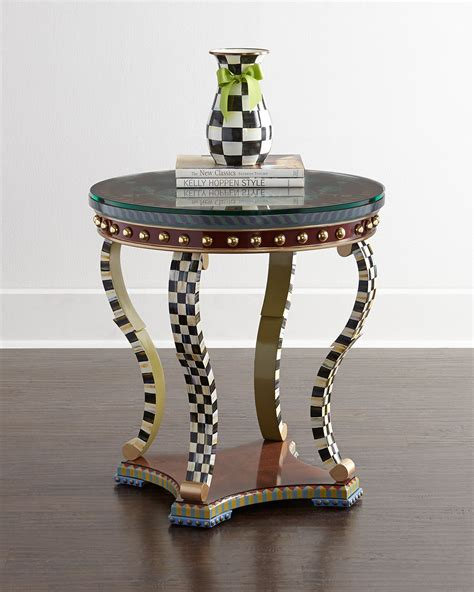 Mackenzie End Table in Black