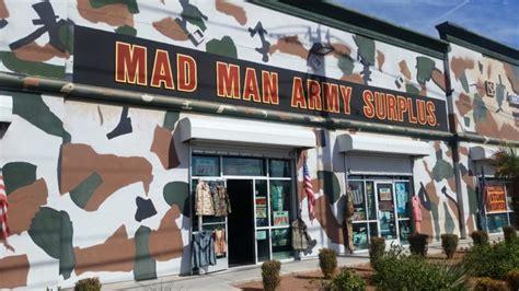 Army-Surplus Mad Man Army Surplus Building.