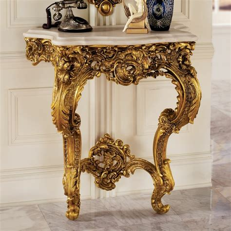 Madame Antoinette Wall Console Table