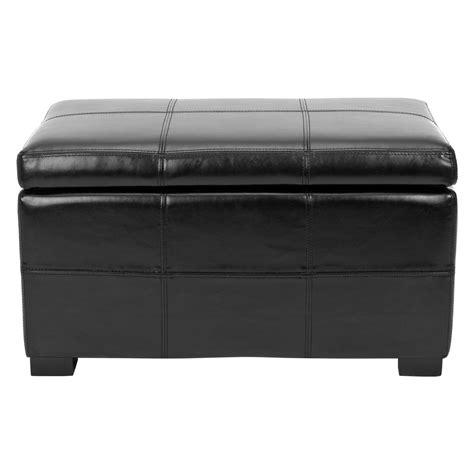 Madison Leather Storage Bench