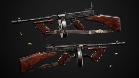 Tommy-Gun Mafia 2 Tommy Gun
