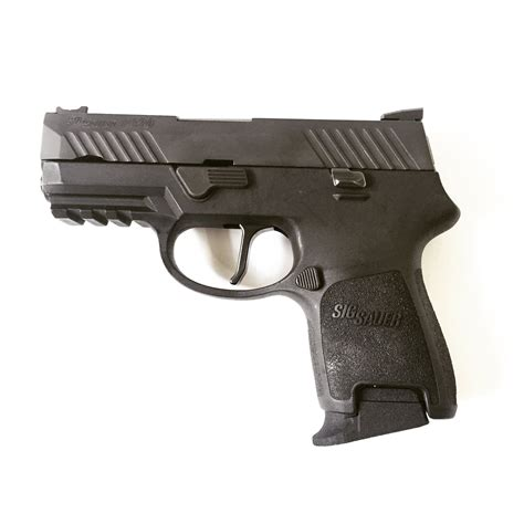 Sig-P320 Magazine Extenstion For Sig P320 Sub Compact.