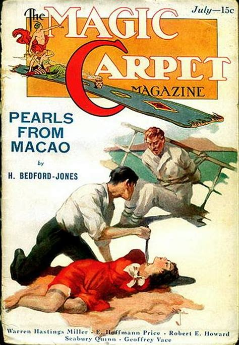 Read Books Magic Carpet Magazine July 1933 Online