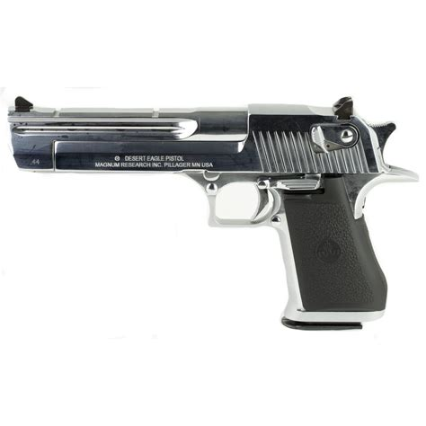 Desert-Eagle Magnum Research Desert Eagle 44 Magnum Brushed Chrome 6 Barrel.