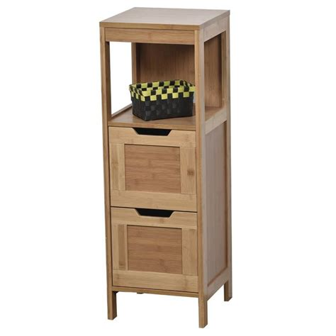 Mahe Bathroom Freestanding 11.13 W x 35.5 H Cabinet