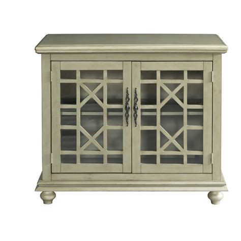 Mainor 2 Door Accent Cabinet