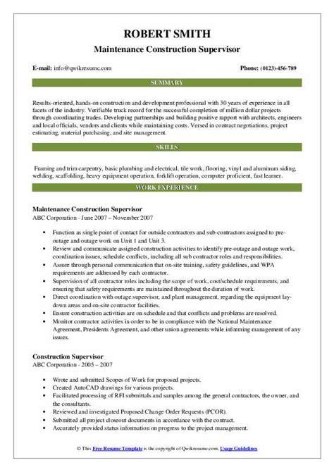 construction resume helper construction resume examples