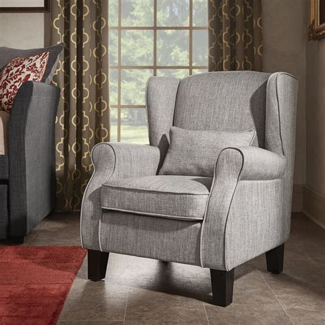 Mainville Solid Wingback Chair