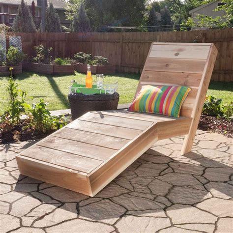 Make A Chaise Lounge