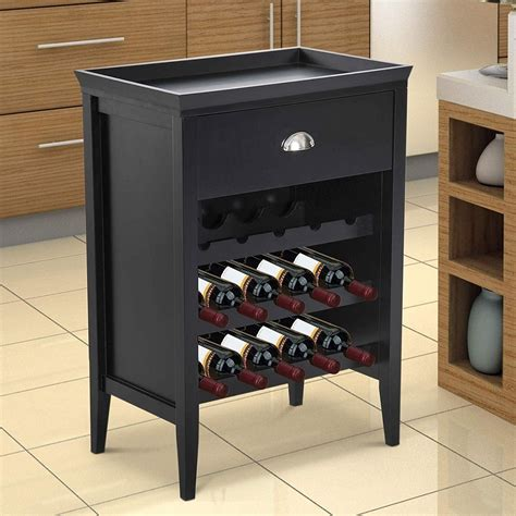making wine rack in cabinet