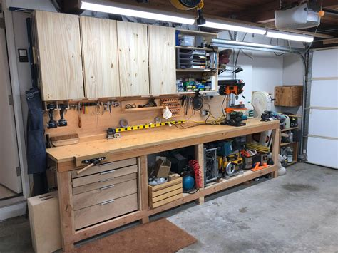 Making A Workbench For Garage