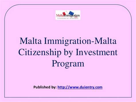 Commercial Lawyer Malta Malta Immigration Malta Citizenship By Investment Program