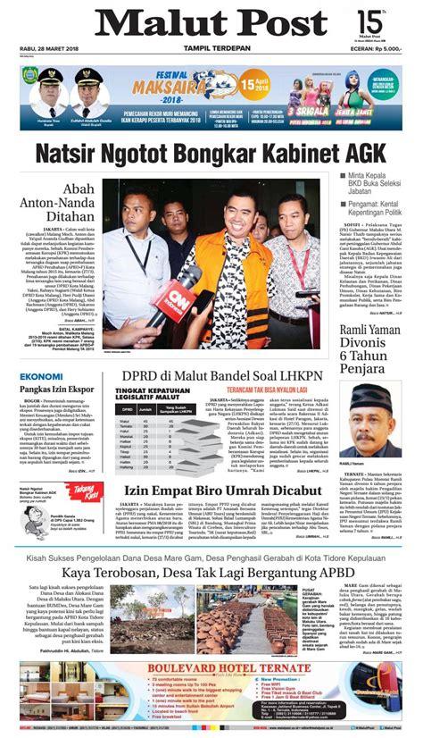 Contoh Soal Cpns Kementerian Pertahanan 2017  Malut Post 28 Maret 2018 By Malut Post Issuu