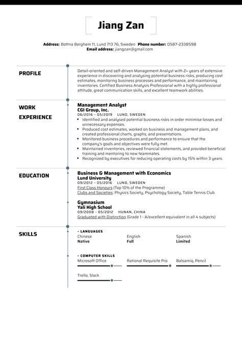 Management Analyst Resume Objective | Greek Letter For Alpha
