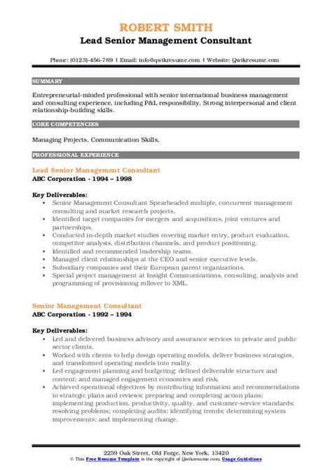 management consulting resume objective bio data example pdf