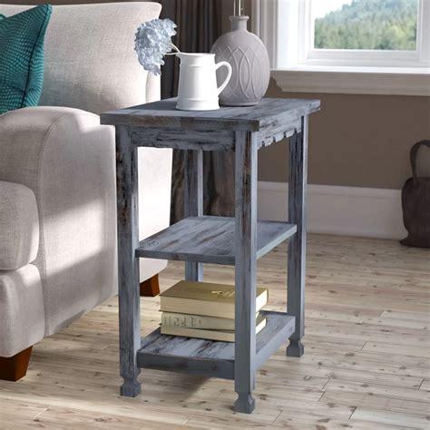 Mangum 2 Shelf End Table