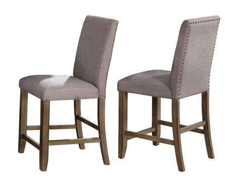 Manning Counter Height Upholstered Dining Chair (Set of 2)