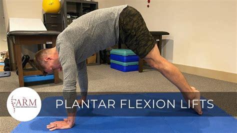manual hip flexor release exercises for plantar