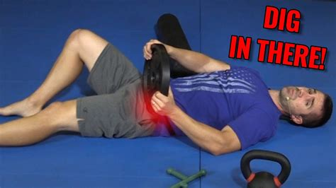 manual hip flexor release massage westborough