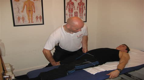 manual hip flexor release technique