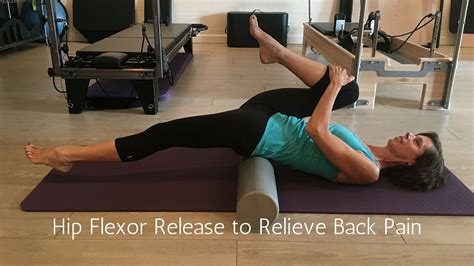manual hip flexor release with 2 chin