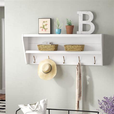 Manzanola Floating Entryway Shelf & Coat Rack