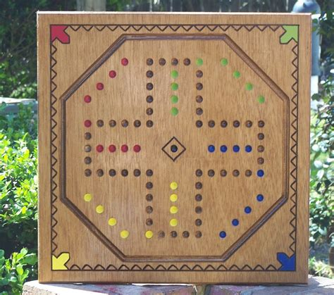 Marble Game Board Pattern