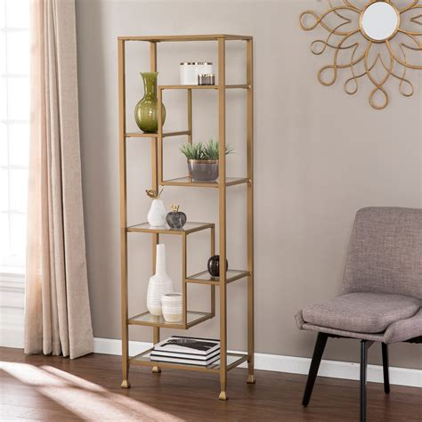 Marcy Etagere Bookcase