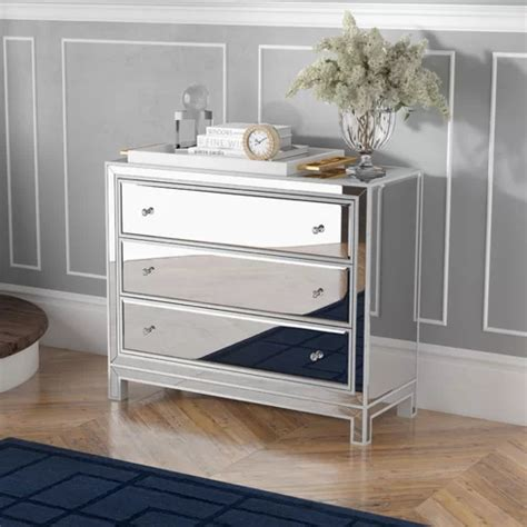 Mariaella 3 Drawers Accent Cabinet