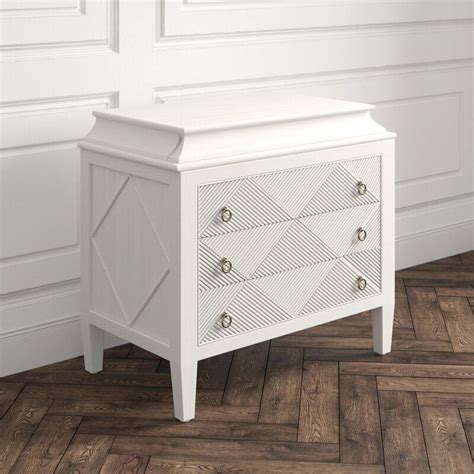 Marilyn 3 Drawer Accent Chest