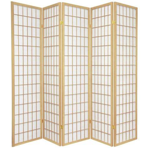 Marissa Shoji 4 Panel Room Divider