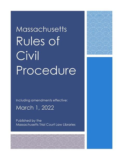 Court Objections Examples Massachusetts Civil Procedure Rule 33