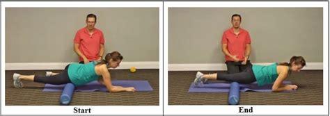 massage hip flexor tendon injury