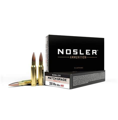 Ammunition Match Grade 308 Ammunition.