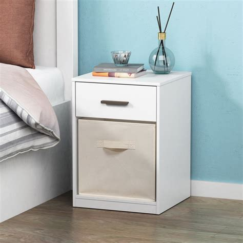 Mateer 1 Drawer Nightstand