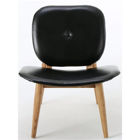 Mathers Faux Leather Side Chair