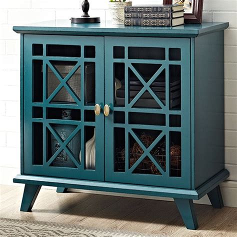 Matheus Fretwork Accent Cabinet