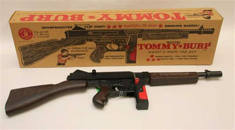Tommy-Gun Mattel Tommy Burp Gun For Sale.