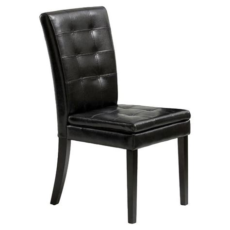 Mayme Leather Side Chair (Set of 2)