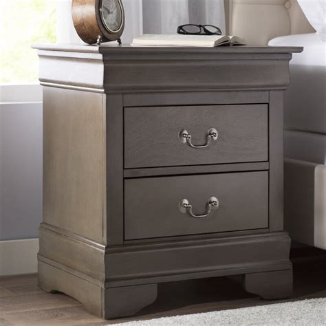 Mayssa 2 Drawer Nightstand