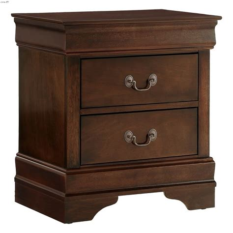 Mayville 2 Drawer Nightstand